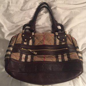 Burberry large shoulder bag